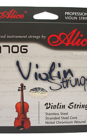 Alice - (A706) violino cordas de aço do núcleo