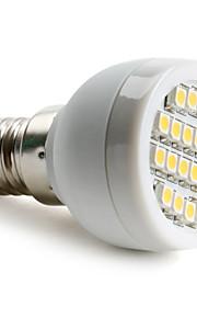 E14 / G9 / E26/E27 1 W 24 SMD 3528 60 LM Varm hvit / Naturlig hvit Spotlys AC 220-240 V