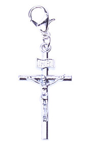 Dog tags Tiny Jesus Cross Style Collar Charm for Dogs Cats