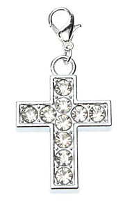 Big Cross Style Collar Charm for Dogs Cats