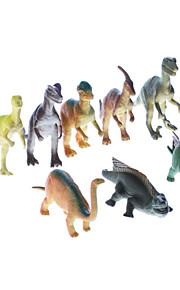"""7 """"vinyl Dinosaurer Pack Collection Uddannelse Legetøj (8-Pack)"""