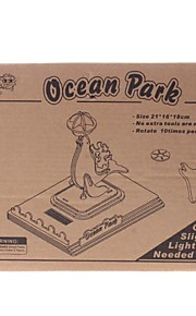 DIY Solar Power Energy saml Wooden Ocean Park Dolphin Kit