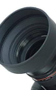 58 milímetros lente capuz de borracha para grande angular, Standard, Lente