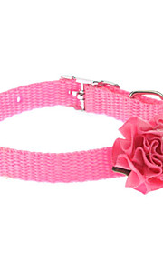 Mini Colorful Rose Style Collar for Dogs (Assorted Color)