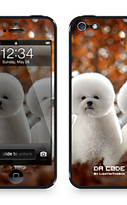 "Da Code ™ Skin for iPhone 4/4S: ""White Dogs"" (Animals Series)"
