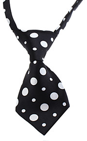 Cat / Dog Tie/Bow Tie Black Dog Clothes Spring/Fall Wedding