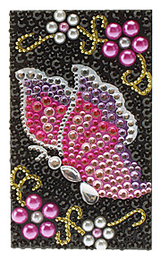 Rose Butterfly Visiting Flowers Jewelry Protective Body Sticker for Cellphone