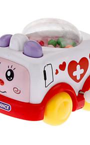 Farverige Clockwork Ambulance Model Toy
