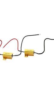 25W dekoding Motstand for Car LED lampe (12V)
