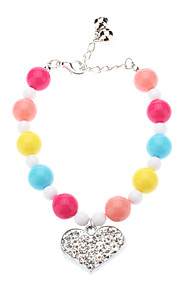 Necklaces for Dogs Blue / Pink / Yellow / Purple Spring/Fall S / M / L Plastic
