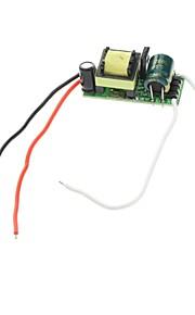 8W LED Constant Current Source Strømforsyning Driver (90-265V)