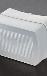 Hvid Flash Diffuser Kasket For Canon Hastighedlys 580Ex 580Exi
