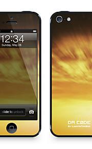 """Da Code ™ Skin voor iPhone 4/4S: """"Gouden Hoeven"""" (Nature Series)"""