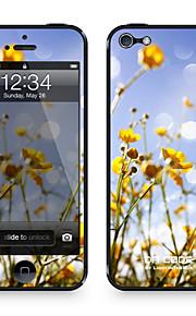 """Da Code ™ Skin voor iPhone 5/5S: """"Wild Geel Madeliefjes"""" (Planten-serie)"""