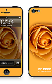 "Codice Da ™ Pelle per iPhone 4/4S: ""Orange Rose"" (Piante Series)"