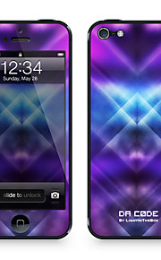 "Codice da pelle ™ per iPhone 5/5S: ""Fucsia Danza luci Pattern"" (Abstract Series)"