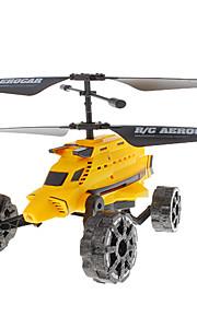 Attop YD-922 3ch RC Aerocar com giroscópio
