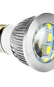 E26 / E27 8 W 16 SMD 5630 650 lmcool / varme hvite spotlights