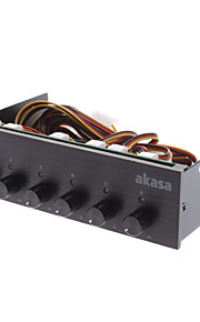 AK-FC-08BKV2 Six Channel Fan Controller