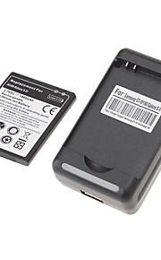 USB Cradle Charger + 1800mAh batterij voor Samsung Galaxy S2 I9100