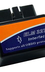 In Car Multiprotocol ELM327 OBD-II Diagnostic Tools Bluetooth Wirelesss Scanner B05