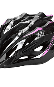 MOON Ciclismo Rosa PC Nero + / EPS 28 Vents MTB Helmet