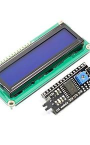 "IIC / I2C 2.5"" Blue Screen LCD Display Module for (For Arduino)"