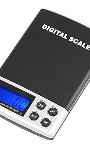 2000g/0.1g LCD Display Digtal Pocket Electronic Scale