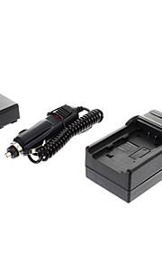 ismartdigi-Samsung IA-BP210E 2100mAh, 3,7 V camera batterij + auto-oplader voor SAMSUNGHMX-H200 H204 H205 S10 S16 F44 F40