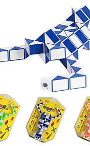 2,5 centímetros de plástico cubo mágico enigma 2x48 Peças Lobster Forma Toy (cor aleatória)