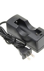 TangsFire 1x18650 carregador de bateria com proteção de conexão reversa (EUA Plug/100 ~ 240V)