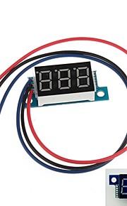 """Mini 0.36"""" 3 Digital LED Display DC 0V-200V Blue Volt Voltage Meter Voltmeter"""