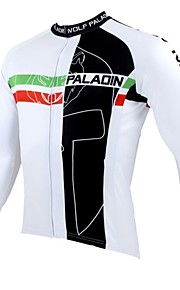 PALADIN® Cycling Jersey Men's Long Sleeve Breathable / Thermal / Warm / Quick Dry / Ultraviolet Resistant Bike Jersey / Tops100%