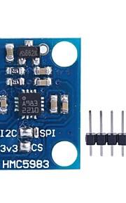 GY-282 HMC5983 module High Precise Triaxial Magnetic Electronic Compass Module