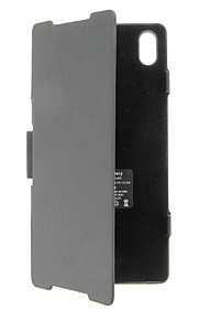 SONY Z2를위한 3500mAh는 전신 배터리 케이스 블랙