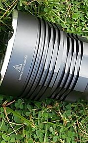 Iluminação Lanternas LED / Lanternas de Mão LED 4500 Lumens 5 Modo Cree XM-L T6 18650.0 Prova-de-Água / Recarregável / autodefesa