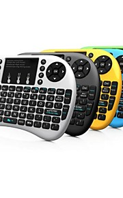 Rii Mini i8+ 2.4G Wireless 92 Keys Keyboard with Touchpad for Google TV Box/PS3/PC