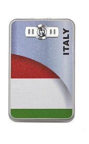 The World Cup Portable 6000mAh Power Bank with 4 in1 Connector (5V 1A , 5V 2A)(Italy)