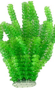 Plastic Fadeless Simulate Plant Decoration Ornament for Aquarium