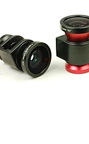 3 in 1 Wide Angle Lens /Macro Lens/180 Fish Eye Lens Kit Set for iPhone 4 /4S
