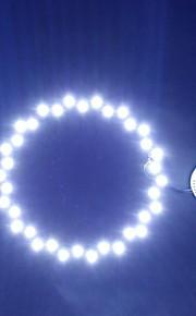 18W 6500k 36led hvitt lys rund taklampe kilde modul