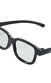 Le-Vision Polarized Light Side by Side Patterned Retarder 3D Glasses for Cinema and 3D TV