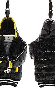 universal 4 tum mobiltelefon väska dunjacka päls påse bomull med snodd för iphone (diverse färg)