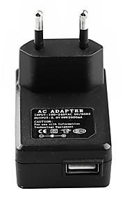 USB-nätadapter eu plug väggladdare för iPhone 6 iphone 6 plus / iPad och andra (5v 2a, blandade färger)