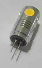 youoklight® g4 5W 5 * cob 200lm varma / kallt vitt ljus majs lökar (ac / 12V)