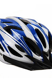 Others Unisex Mountain / Half Shell Bike helmet 22 Vents Cycling Cycling Medium: 55-59cm / Large: 59-63cm PC / EPS White / Blue