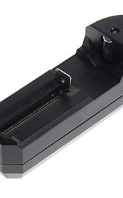 carregador de bateria único para 26650/18650/16340/14500