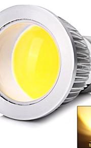e26 / e27 6 w en cob 400 lmcool / varme hvite spotlights ac 85-265 v