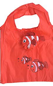 eco-friendly modello di pesci pagliaccio pieghevole borsa della spesa
