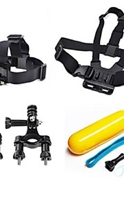 Acessórios GoPro Alças / Acessório Kit Para Gopro Hero 2 / Gopro Hero 3 / Gopro Hero 3+ FlutuantePatim / Aviação / Cinema e Música /